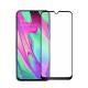 Folie protectie full size HIMO din sticla securizata pentru Samsung Galaxy A40 SM-A405 negru