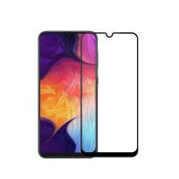 Folie protectie full size 5D sticla securizata full glue pentru Samsung Galaxy M30 / A30 / A50, negru
