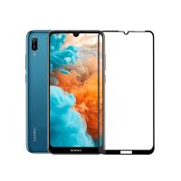 Folie protectie full size HIMO sticla securizata pentru Huawei Y6 2019/ Y6 Pro 2019, negru