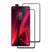 Set 2 folii protectie sticla securizata fullsize pentru Xiaomi Redmi K20 / K20 PRO / Mi 9T, negru
