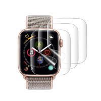 Set 3 folii de protectie ecran pentru Apple Watch 4 Series 44mm full size din hidrogel