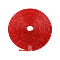 Banda silicon autoadezica bumper antisoc pentru protejarea marginilor trotinetei electrice scurter Xiaomi Mijia M365, rosu