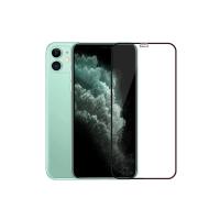 Folie protectie sticla securizata 3D full size pentru iPhone 11, negru