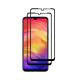 Set 2 folii protectie sticla securizata fullsize pentru Xiaomi Redmi Note 7/ Note 7 Pro, negru
