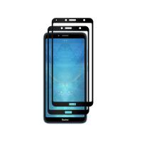 Set 2 folii protectie sticla securizata fullsize pentru Xiaomi Redmi 7A, negru