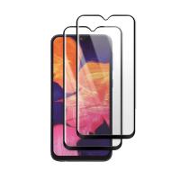 Set 2 folii protectie sticla securizata fullsize pentru Samsung Galaxy A10 SM-105 / M10 SM-M105 , negru
