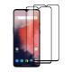 Set 2 folii protectie sticla securizata fullsize pentru OnePlus 7T, negru