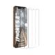 Set 3 folii protectie sticla securizata flexibila pentru iPhone 11 Pro / XS / X