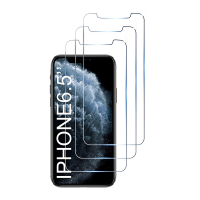 Set 3 folii protectie sticla securizata flexibila pentru iPhone 11 Pro Max / XS Max