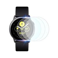 Set 3 folii de protectie ecran pentru Samsung Galaxy Watch Active 2, 44mm, 1.4 inch full size din hidrogel